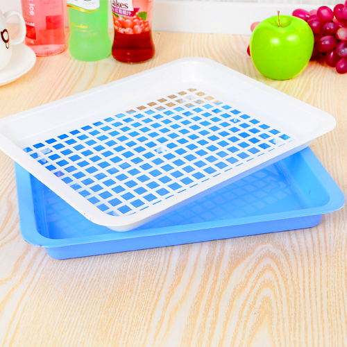 kitchen storage trays creative fashion plastic tray hollow kitchen 3192