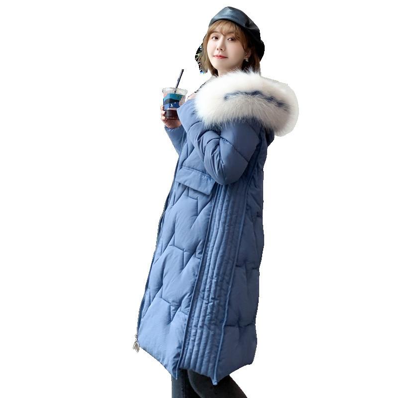 Hot sale   Parkas   Feminina Warm Outwear New Winter Garment Down Clothes Jacket Overcoat Bread Clothes 905