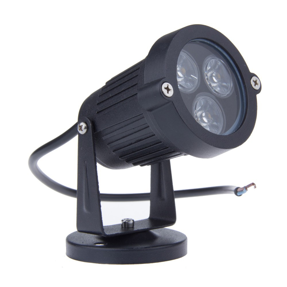 9 W Mini LED çim lambası bahçe lambası Dış Aydınlatma için 220 V 110 V 12 V Su Geçirmez IP65 Peyzaj Spot Işık lambalar