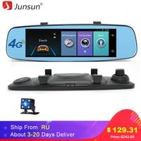 Junsun 4G ADAS Car DVR Camera Digital Video Recorder Mirror 7 86 Android 5 1 With