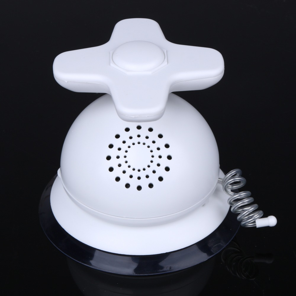 New AM FM Duschradio Wasserdichte Badezimmer Dusche Musik Antenne Radio  Saugnapf Weiß 9*12*10 Cm Bad Produkte In New AM FM Duschradio Wasserdichte  ...