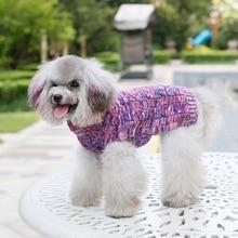 Sweater Jumper Puppy-Knitwear Turtleneck Autumn XL XS Warm Cat Apparel Pet-Dog