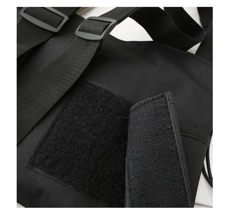 HTB1vqQfXYj1gK0jSZFOq6A7GpXa9 - Fashion Bullet Hip Hop Streetwear Vest Chest Bag For Women Functional Waistcoat Tactical Bags For Men Black Chest Rig Bags 233