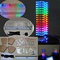 Diy kit de luz cubo LEVOU música espectro VU indicador do Nível de produção eletrônica kits DIY torre KS16 Fantasy crystal coluna de som