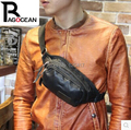 2015 High Quality PU Leather Men's Handbag Messenger Shoulder Sling CrossBody Chest Bag Free Shipping