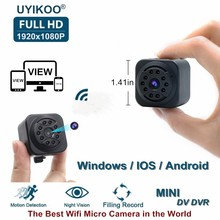 New Wifi Mini Camera 1080P HD Remote Playback Video Small Micro Cam With Motion Detection and Night Vision Home Monitor PK SQ13(China)