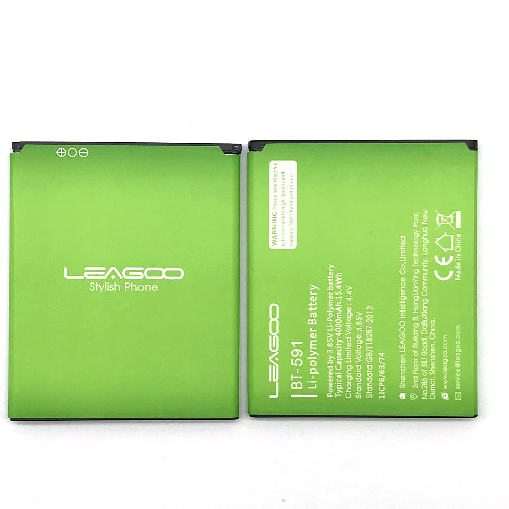 1Pcs High Quality New BT-591 BT 591 BT591 Battery For LEAGOO Kiicaa Power Mobile Phone In Stock + Track Code