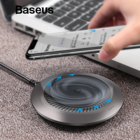 Baseus Automatic Radiating Wireless Charger Qi Fast Wireless Charging Pad With Silent Fan For iPhone X XS Max Samsung S9 Note 9