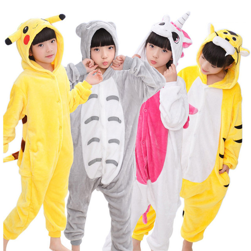 63889a58d4 Detail Feedback Questions about Animal Children Pajamas Set Flannel Hooded  Stitch Unicorn Panda Pajamas Onesies Cosplay Kids Sleepwear For Boys Girls  4 ...