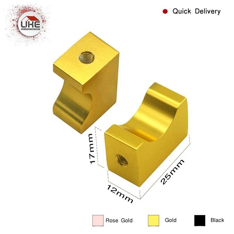 UKE Gold Cabinet Knob, Kitchen Drawer Knob,small Handle Knob Bedroom Drawer Pulls