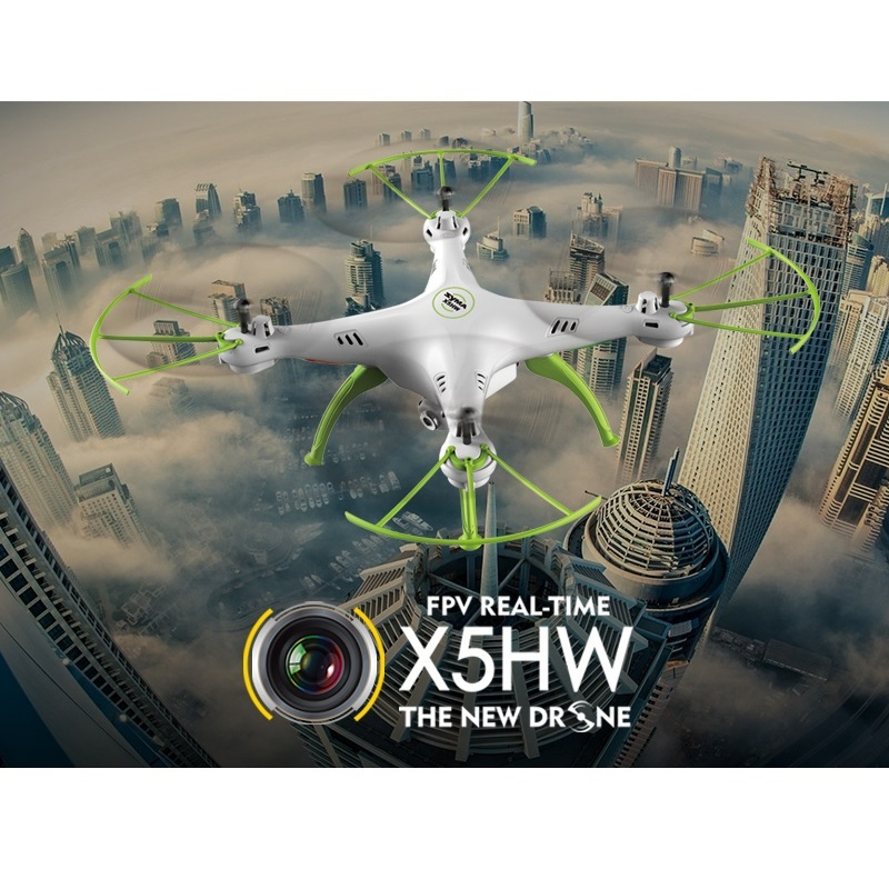 Syma X5HW X5HW-1 FPV RC Quadcopter with WIFI Camera 2.4G следопыт неон