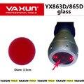 Диаметр 3.5 см Стекло для YAXUN 865D/863D инфракрасные станции, IRDA Инфракрасный BGA Паяльная станция частей