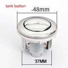 Toilet Push Buttons toilet flush button toilet button diameter 48MM free shipping universal flush toilet cistern tank single push button flush 38mm mounting hole