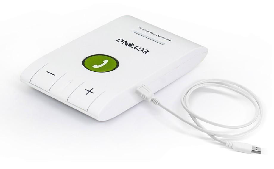 Bluetooth Zestaw Głośnomówiący Bluetooth Zestaw Głośnomówiący Zestaw Samochodowy z Ładowarką Samochodową A2DP Bezprzewodowy telefon Auto obsługa głosowa Połączeń ID raport 9