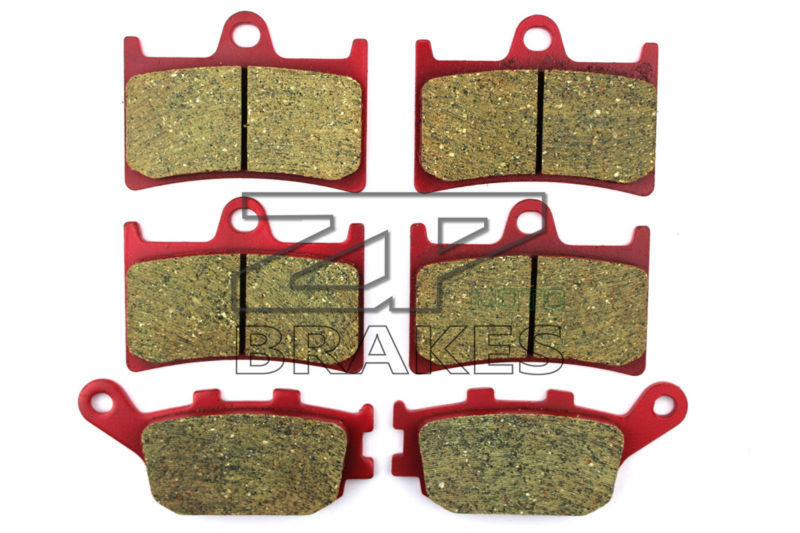 Ceramic Brake Pads Front Rear For FZ6 V/X/Y (4 Piston caliper) 2007-2009 OEM New High Quality ZPMOTO high quality projector lamp elplp08 for epson powerlite 9000i v11h0289 v11h0280 v11h0290
