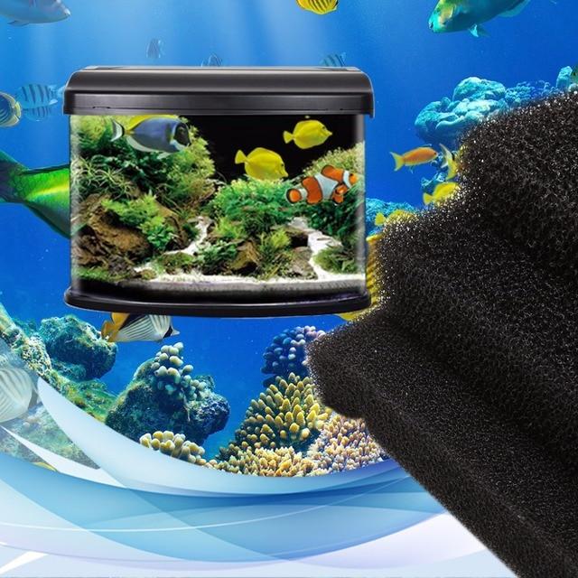 Aquarium Filtre Mousse Biochimique Bloc éponge Mousse Tampons