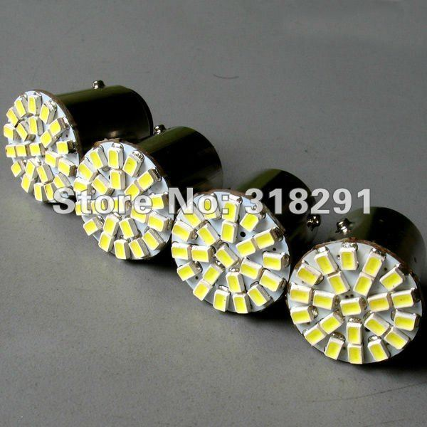 Free shipping LED 1206  22 SMD car   turn brake signal  light 1156 1157  ba15s bulb