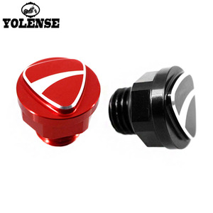 For Ducati 848 899 959 1098 1198 1199 1299 Panigale Motorcycle Accessories CNC Aluminum 3D LOGO Oil Filler Cap Plug Screw Cover