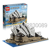 IN STOCK Free Shipping 2989Pcs LEPIN 17003 Sydney Opera House Model Building Kits Blocks Bricks Toys