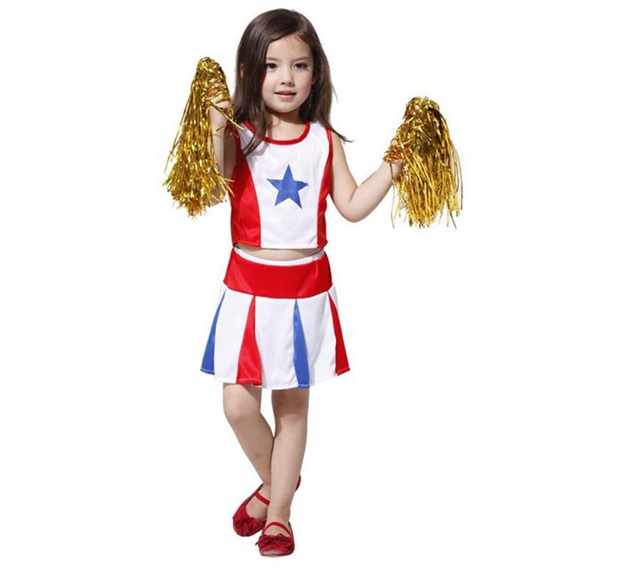 Free shipping ,party cheerleading cheerleader costume dress