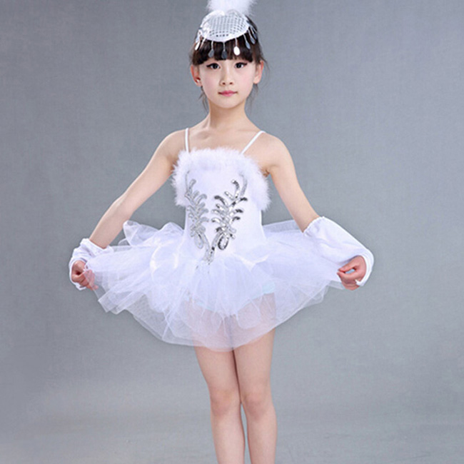 White Swan Lake Dance Dress Classical Professional Ballet Tutu Dancewear Girls Stage Performance Costumes Ballet Dress christmas dress professional ballet tutu fashion dance dress performance wear costumes th1034c hair accessory clothes children