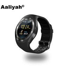 [Aaliyah] D3 Bluetooth Smart часы Facebook синхронизации SMS SmartWatch Поддержка SIM карты памяти с шагомер для IOS Android смартфоны