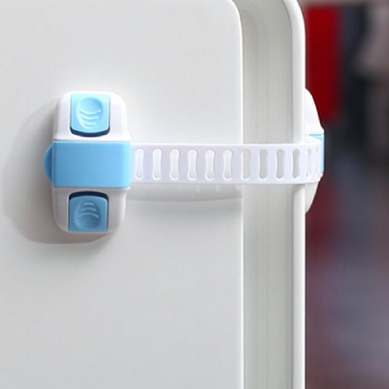 1Pcs Baby Safety Child Lock Kids Security Protection Refrigerator Door Cupboard Box Fridge Prevent Open Drawer Cabinets-in Cabinet Locks u0026 Straps from ... & 1Pcs Baby Safety Child Lock Kids Security Protection Refrigerator ...