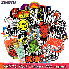 US $3.99 20% OFF|100 PCS Rock Sticker Music Retro Band Graffiti JDM Stickers to DIY Guitar Motorcycle Laptop Luggage Skateboard Car Snowboard-in Stickers from Toys & Hobbies on Aliexpress.com | Alibaba Group