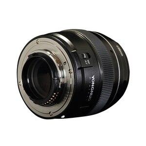 Image 2 - YONGNUO YN100mm 100 مللي متر F2N ثابت البؤري لكاميرا نيكون عدسة ، دعم AF/MF فتحة كبيرة القياسية المتوسطة المقربة رئيس عدسة