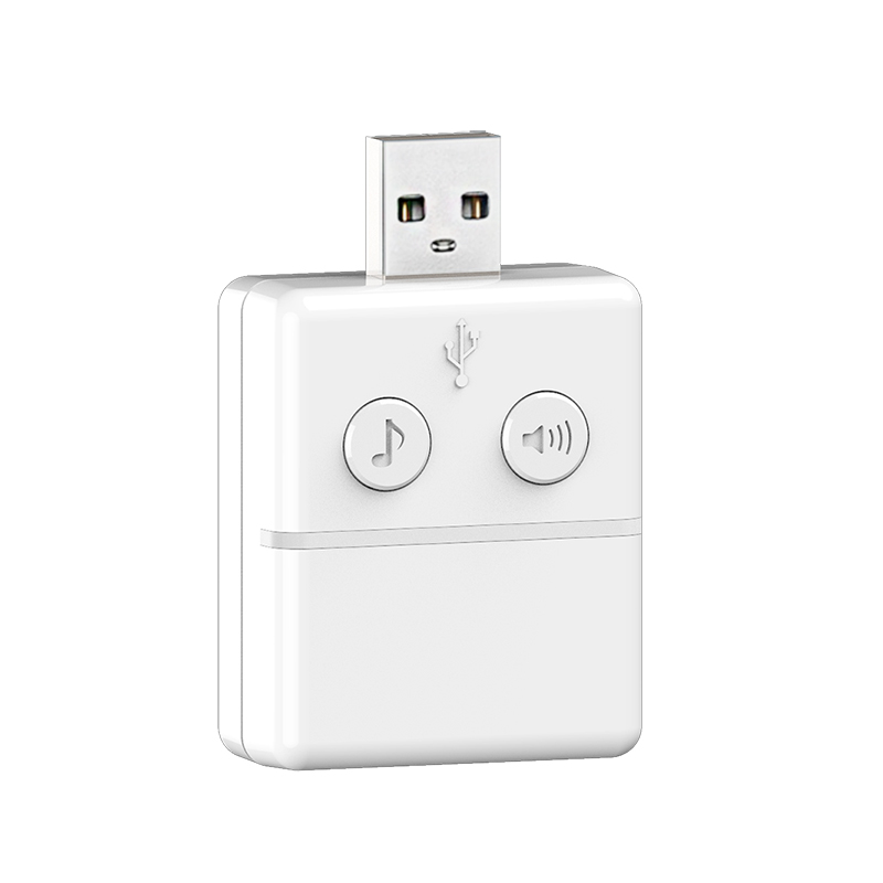 High Quality Usb Music Doorbell Indoor Use For Knox Smart Wifi 2way Audio Doorbell Smart Home Pure Whiteness