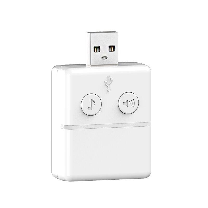 Sinnvoll Hohe Qualität Usb Musik Türklingel Innenbereich Für Knox Smart Wifi 2-weg Audio Türklingel Smart Home