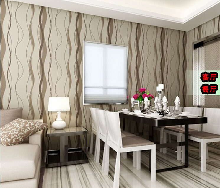 Popular Striped Wallpaper Buy Cheap Striped Wallpaper Lots From China Striped Wallpaper