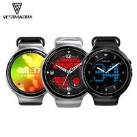 VESTMADRA I4 AIR Montre Smart Watch Android 5.1 MTK6580 Quad Core 2G + 16G Dispositifs Portables 3G + GPS + WiFi Moniteur de Fréquence Cardiaque Smartwatch