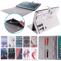 Color Mix Magnetic Cover Leather Case For Samsung Galaxy Tab S 10 5 T800 T805 Tablet
