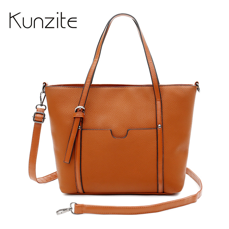 NEW Litchi Patter Large Capacity Women Bag High Quality PU Leather Handbag Sac A Main Female Causal Tote Luxury Brand Ladies Bag 2018 new women bag ladies shoulder bag high quality pu leather ladies handbag large capacity tote big female shopping bag ll491