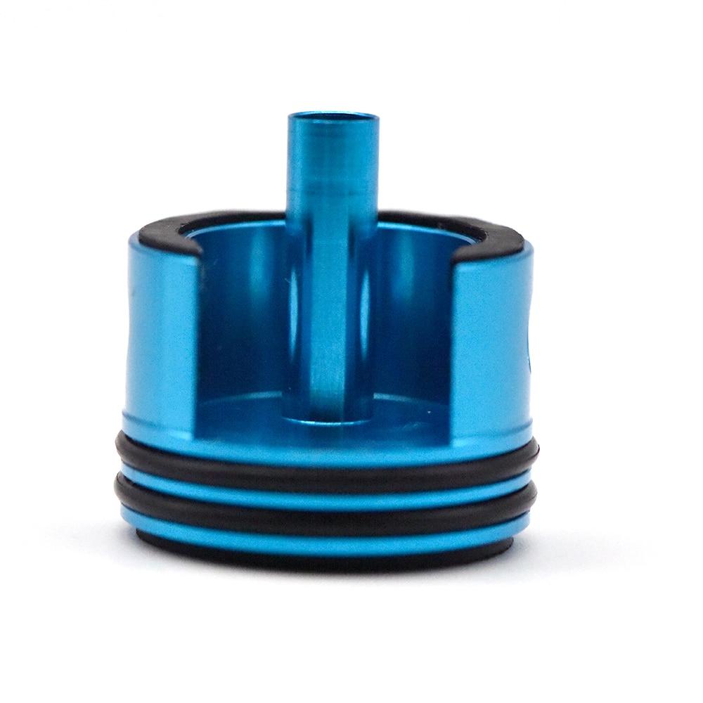 CNC Aluminium Alloy Super Silent Cylinder Head For Airsoft Ver.2 Ver. 3 Gearbox Paintball M4 AK AEG JinMing Air Guns Gel Blaster