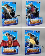 4 teile/los Begrenzt! 16-18 cm Klassische Spielzeug Godzilla Gaigan Rodan Anguirus monsters action figure Spielzeug
