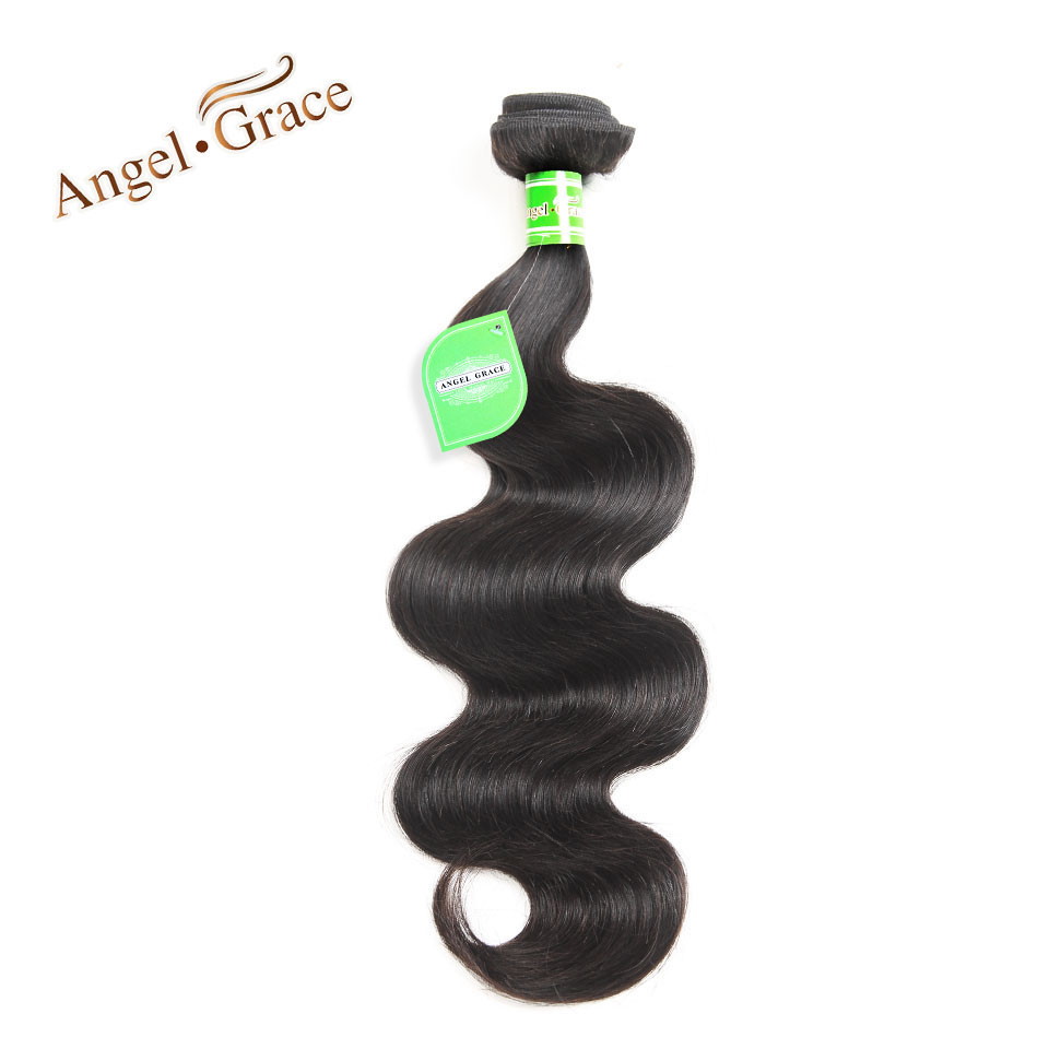 Brazilian Body Wave Hair Bundles Angel Grace Hair 1pc 3pcs 4pcs Brazilian Hair Weave Bundles Remy Human Hair Extension Cheveux
