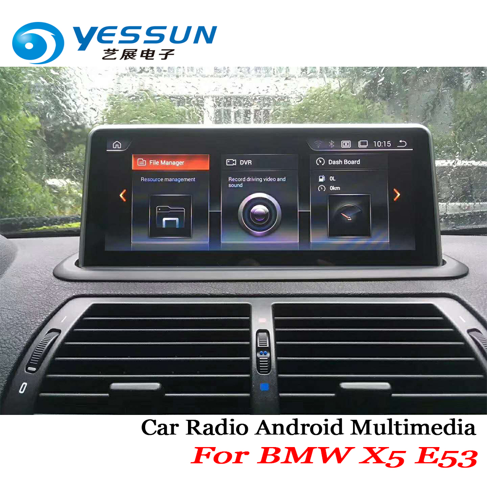 "YESSUN 10.25"" inch HD Screen For BMW X5 E53 1999~2006 Car Android Stereo Audio Video Player GPS Navigation Media idrive No DVD"