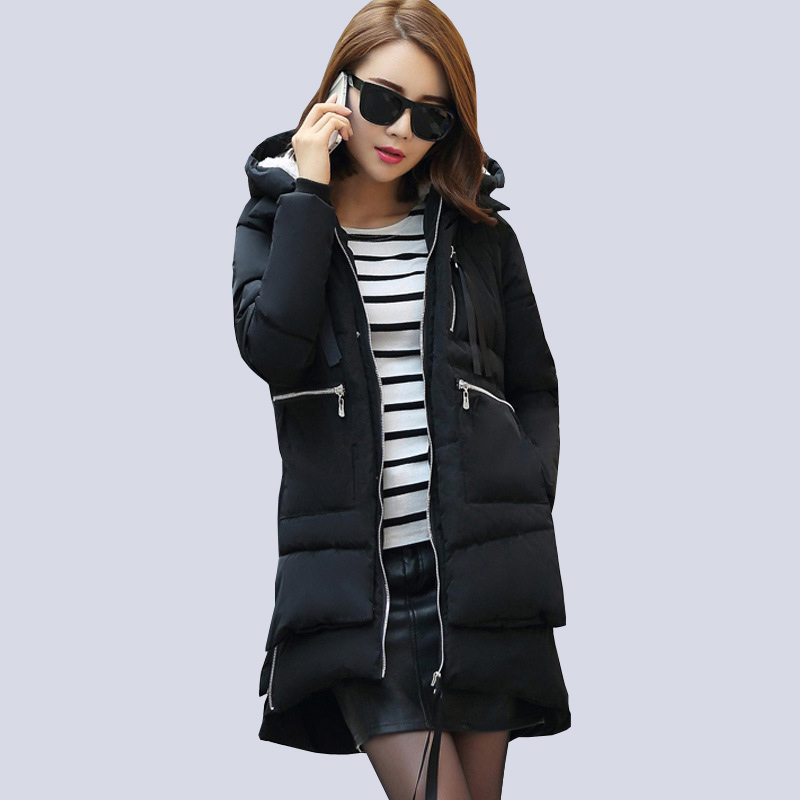 2017 New winter jacket women Korea fashion uniform warm ...