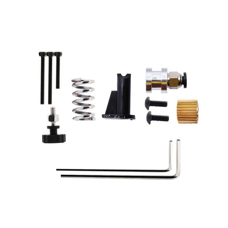 Kee pang extrusora remoto e3d v6 romote suporte de montagem kit diy bowden com 42 kit de motor deslizante impressora 3d extrusora