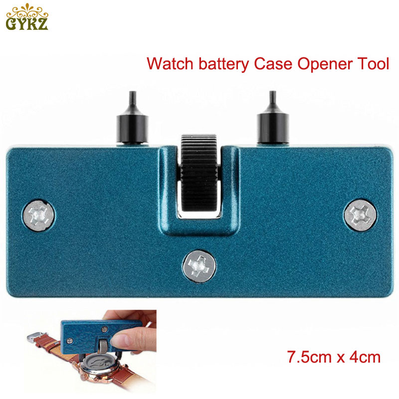 цена на Portable Watch Tools Watches Back Case Watchmaker Opener Spanner Remover Screw Wrench Remover Watch Repair Tool Kit