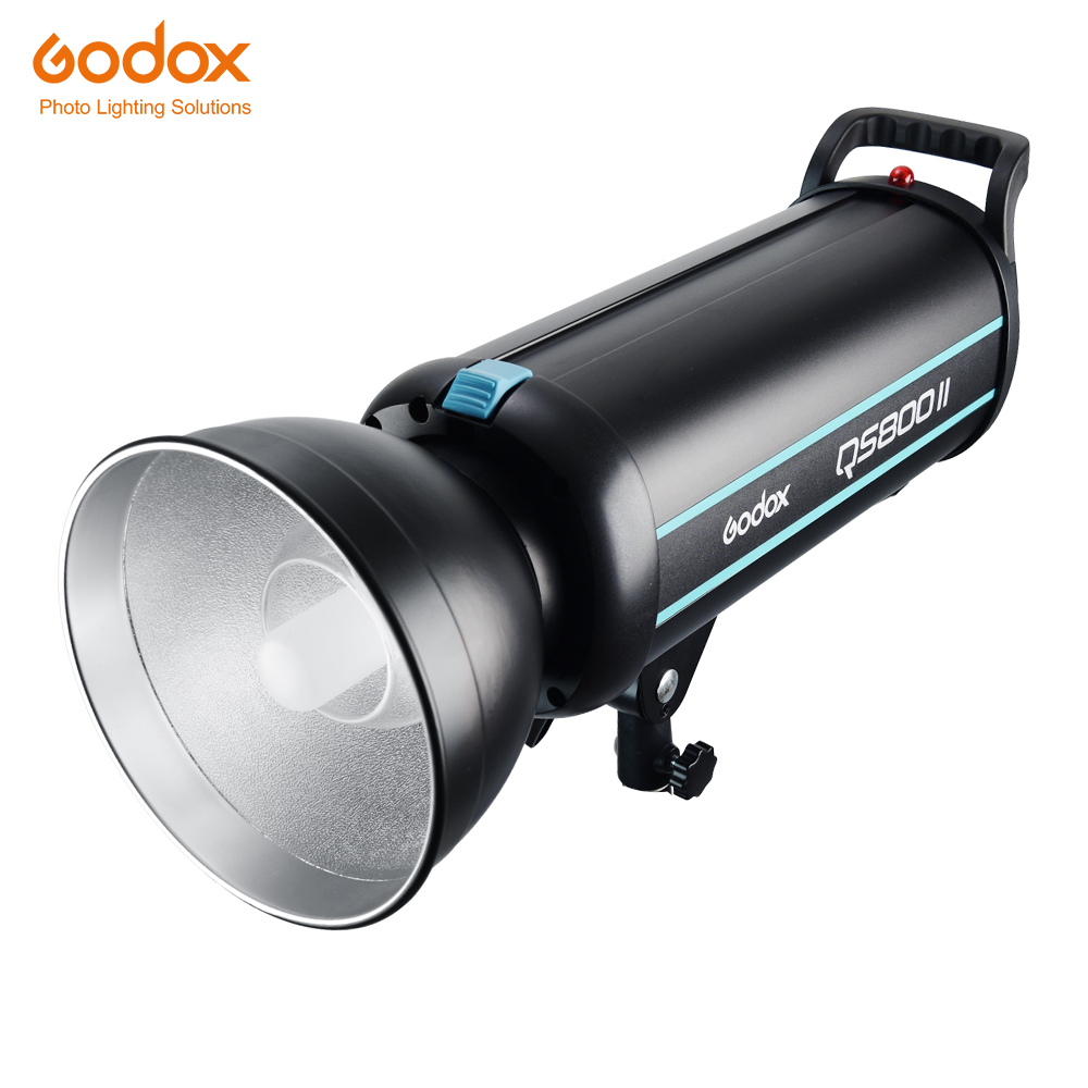 Godox QS800II 800Ws GN90 Professional Studio Strobe with Built in Godox 2.4G Wireless X System Offers Creative Shooting-in Flashes from Consumer Electronics    1