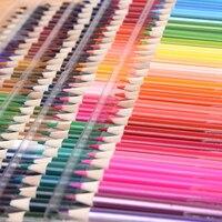 150สีSoftสีน้ำดินสอไม้น้ำที่ละลายน้ำได้สีดินสอชุดสำหรับไพฑูรย์เดรภาพวาดร่างโรงเรียนอุปกรณ์...