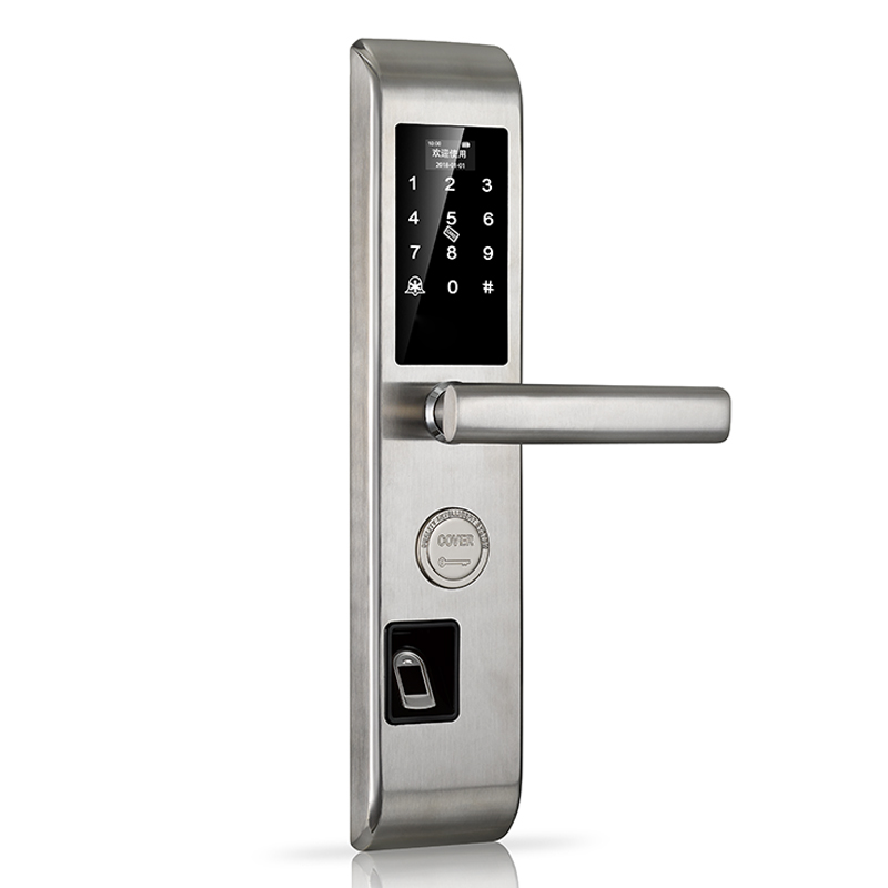 Smart Door Lock Electronic Fingerprint Door Lock Control Digital Keyless Door Lock Biometric Keypad Double sided Door Lock waterproof electronic door lock fingerprint lock biometric door lock with wifi bluetooth digital lock door keyless security