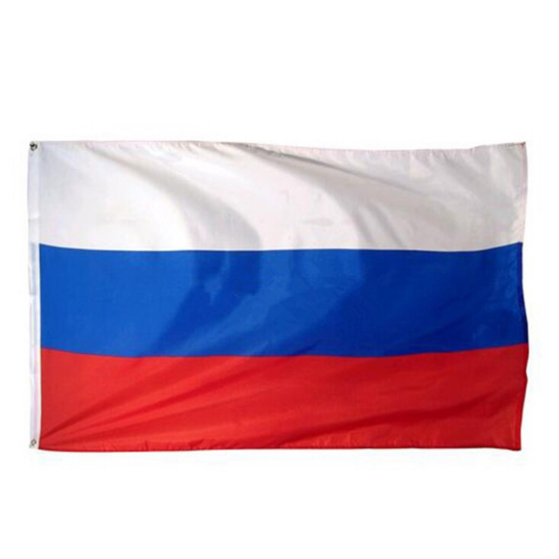 Waving 90*150cm Hanging RU National Russian Federation Flag Of Russia Flying Home City Decoration Banner Party Decoration