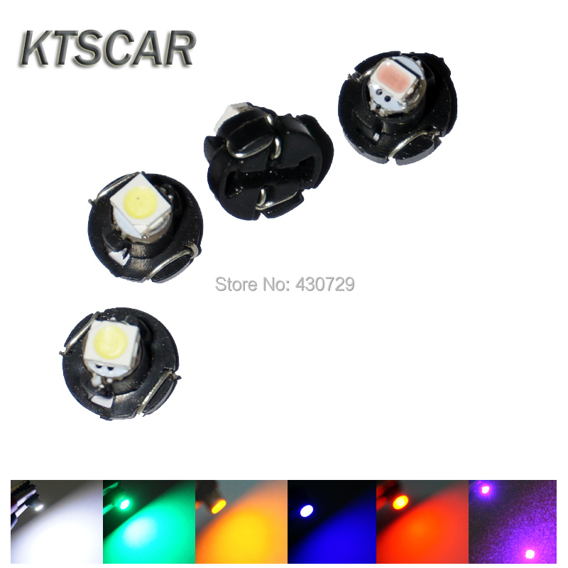 100X T3 T4.2 T4.7 LED Neo Wedge Switch Radio Climate Control Bulb Instrument Dashboard Dash Indicator Light Bulb Ac Panel Bulb