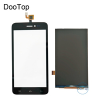 Explay Rio Play Capactive Touch Screen Digitizer Front Glass Replacement TouchScreen Black Color Free Shipping
