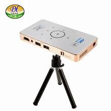 Todos Ganan A18 Celular Projetor Full HD 3D Mini Proyector de Vídeo Android DLP Pico Proyector Projecteur Juego de Batería Portatil