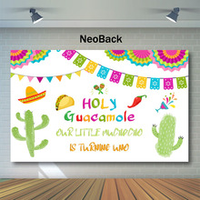 Fiesta Mexico Theme 1st Birthday Party Backdrop Festival  Carnival Photo Background Luau Event Mexican Photography Backdrops